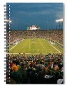 0615 Prime Time At Lambeau Field Spiral Notebook