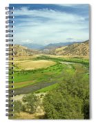 0636 Kings Canyon National Park Spiral Notebook