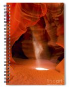 0677 Upper Antelope Canyon Spiral Notebook