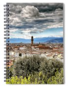 0753 Florence Italy Spiral Notebook