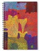 0787 Abstract Thought Spiral Notebook