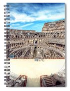 0795 Roman Colosseum Spiral Notebook
