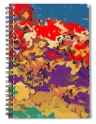 0806 Abstract Thought Spiral Notebook