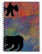 0864 Abstract Thought Spiral Notebook
