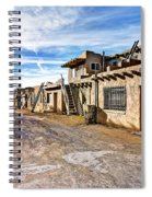 0926 Sky City - New Mexico Spiral Notebook