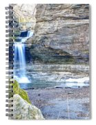 0940 Cascade Falls - Matthiessen State Park Spiral Notebook