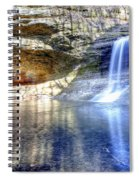 0943 Cascade Falls - Matthiessen State Park Spiral Notebook