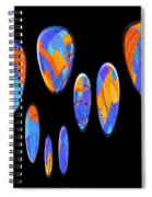 0986 Abstract Thought Spiral Notebook