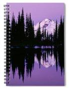 Glacier Peak  In Image Lake Spiral Notebook