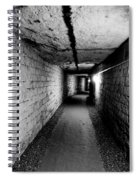 Image Of The Catacomb Tunnels In Paris France Spiral Notebook