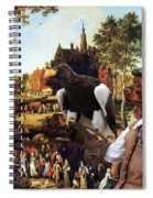 Irish Setter Art Canvas Print Spiral Notebook