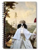 Japanese Chin Art Canvas Print  Spiral Notebook