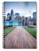 New Romare-bearden Park In Uptown Charlotte North Carolina Earl Spiral Notebook