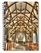Plaxtol Church  Spiral Notebook