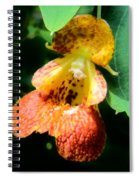 Spotted Jewelweed Spiral Notebook