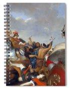 Swedish Vallhund  - Vastgotaspets Art Canvas Print Spiral Notebook