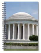 Thomas Jefferson Memorial Spiral Notebook