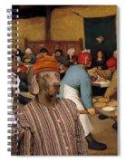 Weimaraner Art Canvas Print  Spiral Notebook
