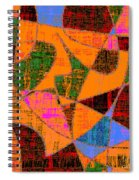 0267 Abstract Thought Spiral Notebook