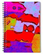 0319 Abstract Thought Spiral Notebook