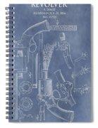 1856 Revolver Patent Spiral Notebook