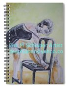 1920s Girl Spiral Notebook