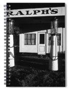 1929 Ralph's Service Station Armory Park Tucson Arizona Spiral Notebook