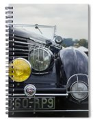 1935 Delage Spiral Notebook
