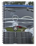 1937 Mercedes Benz Spiral Notebook