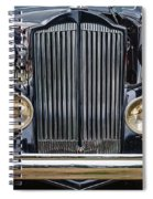 1937 Packard Super 8 Spiral Notebook