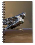 1941 Cadillac Fleetwood Hood Ornament Spiral Notebook