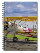 1943 Boeing Stearman Spiral Notebook