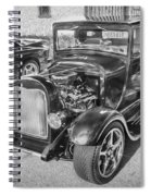 1949 Ford Pick Up Truck Bw Spiral Notebook