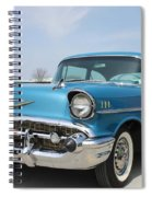 1957 Chevy Bel-air Spiral Notebook