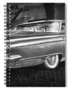 1959 Buick Electra 225 Bw Spiral Notebook