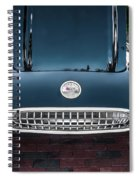 1959 Chevy Corvette Convertible Painted  Spiral Notebook