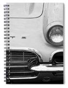 1961 Vette Spiral Notebook
