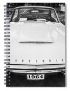 1964 Ford Thunderbird Painted Bw  Spiral Notebook