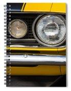1967 Camaro Headlight Spiral Notebook