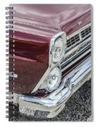1967 Ford Fairlane 500xl Spiral Notebook