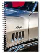 1969 Chevrolet Corvette 427   Spiral Notebook