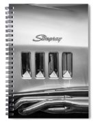 1969 Chevrolet Corvette 427 Bw Spiral Notebook