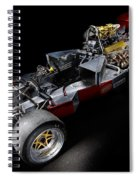 1974 Lola T332  F5000 Race Car V8 5 Litre Chassis Spiral Notebook
