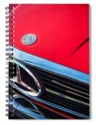 1984 Mercedes 500 Sl Convertible Spiral Notebook