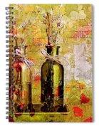 1-2-3 Bottles - S12a203 Spiral Notebook
