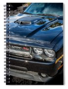 2010 Dodge Challenger Rt Hemi    Spiral Notebook