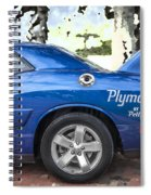 2010 Plymouth Superbird  Spiral Notebook