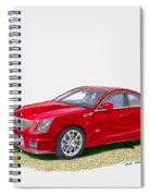 2013 Cadillac C T S  V Spiral Notebook