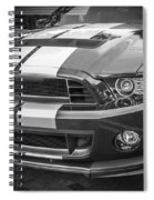 2013 Ford Mustang Shelby Gt 500 Bw Spiral Notebook