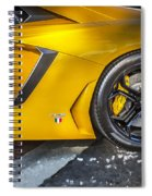 2013 Lamborghini Adventador Lp 700 4 Spiral Notebook